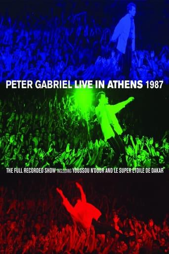 Best Music Movies of 2013 : Peter Gabriel: Live in Athens 1987
