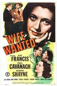 Best Crime Movies of 1946 : Wife Wanted