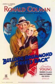 Best Adventure Movies of 1934 : Bulldog Drummond Strikes Back