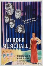 Best Crime Movies of 1946 : Murder in the Music Hall