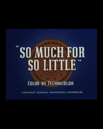 Best Documentary Movies of 1949 : So Much for So Little