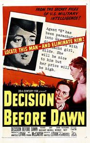 Best Action Movies of 1951 : Decision Before Dawn