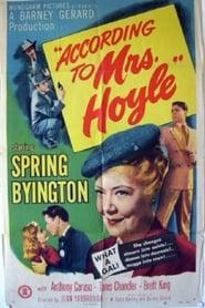 Best Crime Movies of 1951 : According to Mrs. Hoyle