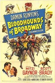 Best Music Movies of 1952 : Bloodhounds of Broadway