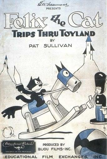 Best Animation Movies of 1925 : Felix the Cat Trips Thru Toyland