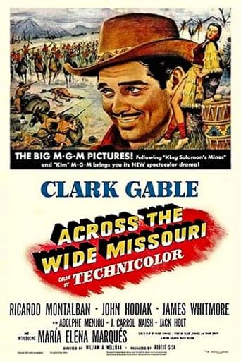Best Western Movies of 1951 : Across the Wide Missouri