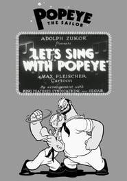 Best Animation Movies of 1934 : Let's Sing with Popeye