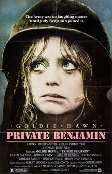 Best Comedy Movies of 1980 : Private Benjamin
