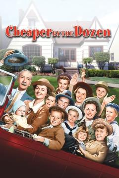 Best Family Movies of 1950 : Cheaper by the Dozen