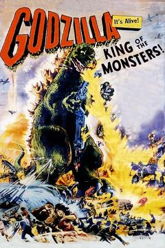 Best Horror Movies of 1956 : Godzilla, King of the Monsters!