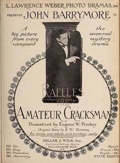 Best Crime Movies of 1917 : Raffles, the Amateur Cracksman