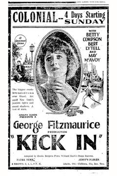 Best Crime Movies of 1922 : Kick In