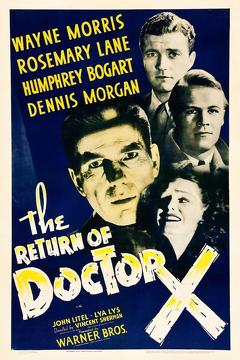 Best Science Fiction Movies of 1939 : The Return of Doctor X
