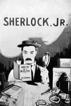 Best Action Movies of 1924 : Sherlock Jr.