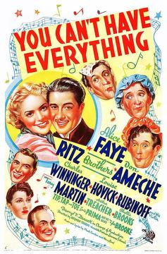 Best Music Movies of 1937 : You Can't Have Everything