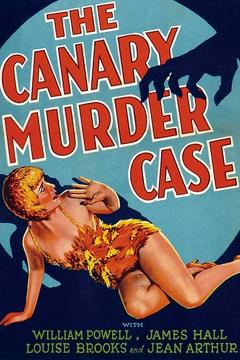 Best Crime Movies of 1929 : The Canary Murder Case