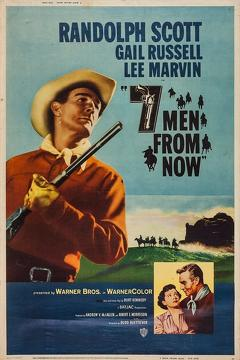 Best Western Movies of 1956 : 7 Men from Now
