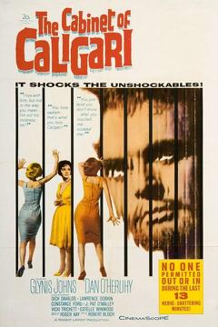 Best Horror Movies of 1962 : The Cabinet of Caligari