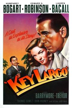 Best Thriller Movies of 1948 : Key Largo