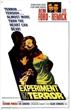 Best Thriller Movies of 1962 : Experiment in Terror