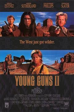 Best Western Movies of 1990 : Young Guns II