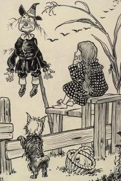 Best Adventure Movies of 1910 : Dorothy and the Scarecrow in Oz