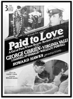 Best Romance Movies of 1927 : Paid to Love