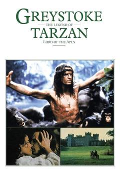 Best Adventure Movies of 1984 : Greystoke: The Legend of Tarzan, Lord of the Apes