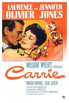Best Romance Movies of 1952 : Carrie