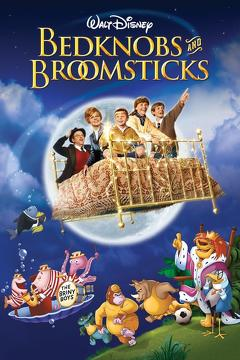 Best Adventure Movies of 1971 : Bedknobs and Broomsticks