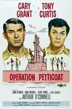 Best Romance Movies of 1959 : Operation Petticoat