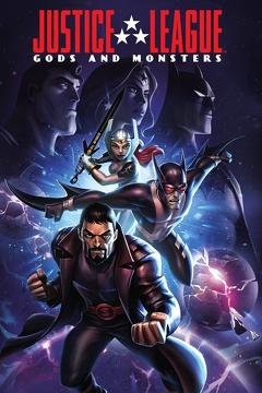 Best Animation Movies of 2015 : Justice League: Gods and Monsters