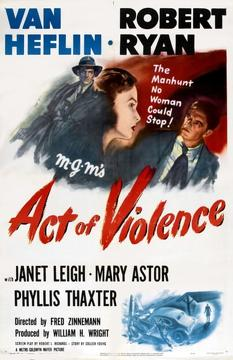 Best Thriller Movies of 1949 : Act of Violence