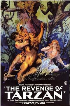 Best Action Movies of 1920 : The Revenge of Tarzan