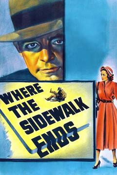Best Thriller Movies of 1950 : Where the Sidewalk Ends