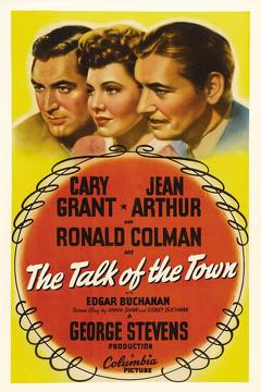 Best Comedy Movies of 1942 : The Talk of the Town