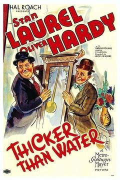 Best Comedy Movies of 1935 : Thicker Than Water