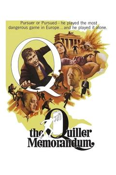 Best Crime Movies of 1966 : The Quiller Memorandum