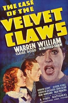 Best Mystery Movies of 1936 : The Case of the Velvet Claws