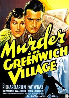Best Mystery Movies of 1937 : Murder in Greenwich Village
