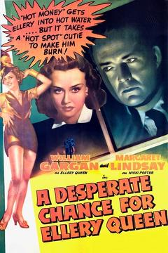 Best Mystery Movies of 1942 : A Desperate Chance for Ellery Queen