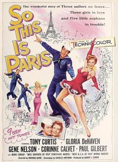 Best Music Movies of 1954 : So this is Paris