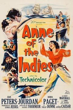 Best Action Movies of 1951 : Anne of the Indies