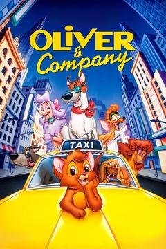 Best Animation Movies of 1988 : Oliver & Company