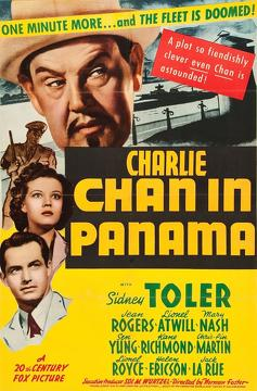 Best Thriller Movies of 1940 : Charlie Chan in Panama