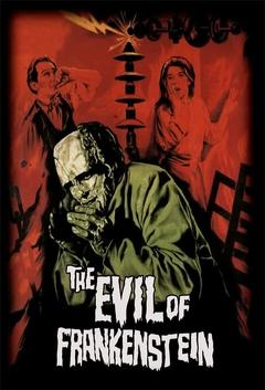 Best Science Fiction Movies of 1964 : The Evil of Frankenstein