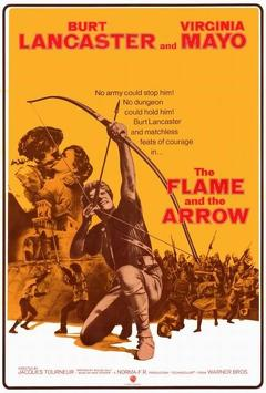 Best History Movies of 1950 : The Flame and the Arrow