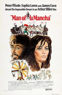 Best Adventure Movies of 1972 : Man of La Mancha