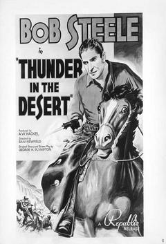 Best Western Movies of 1938 : Thunder in the Desert