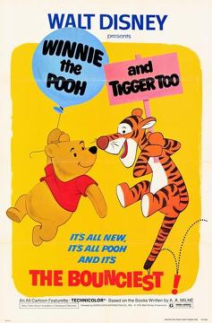 Best Animation Movies of 1974 : Winnie the Pooh and Tigger Too
